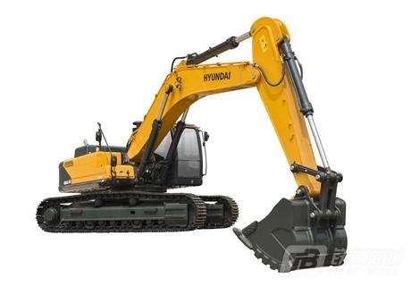 现代R485LVS挖掘机外观图3