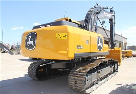约翰迪尔E210 LC履带挖掘机外观图3
