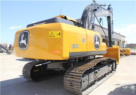 约翰迪尔E210 LC履带挖掘机外观图2