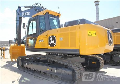 约翰迪尔E210 LC履带挖掘机外观图5