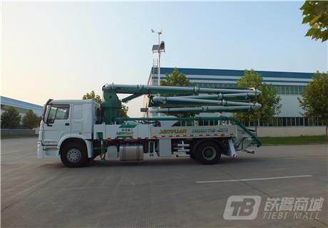 森源重工SMQ5160THB27米混凝土泵车外观图4