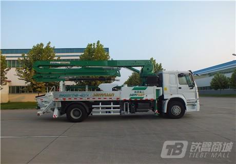 森源重工SMQ5160THB27米混凝土泵车外观图5