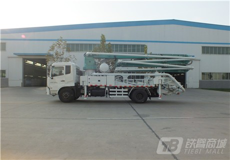 森源重工SMQ5160THB27米混凝土泵车外观图7