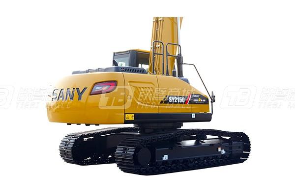 三一SY215C履带挖掘机