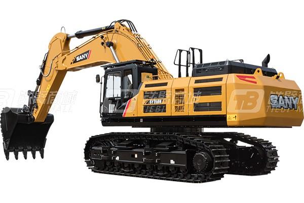 三一SY750H履带挖掘机外观图1