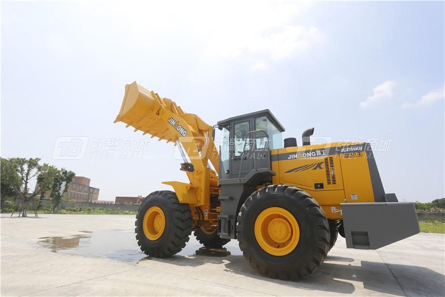 晋工JGM756KN(国Ⅲ)轮式装载机外观图4