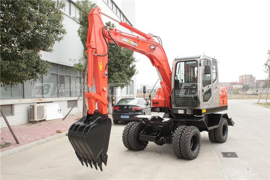 晋工JGM9075LN-9轮式挖掘机外观图2