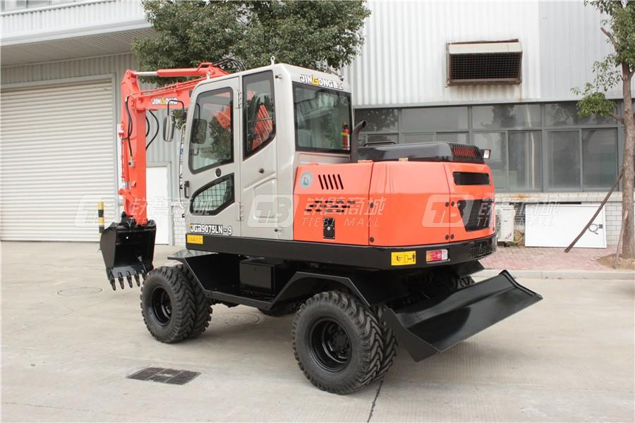 晋工JGM9075LN-9轮式挖掘机外观图3