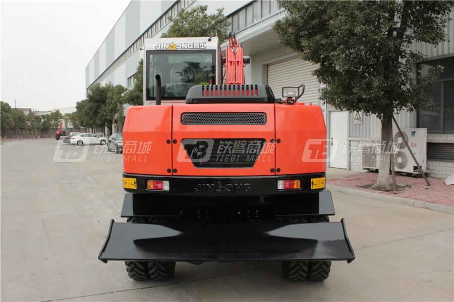 晋工JGM9075LN-9轮式挖掘机外观图5