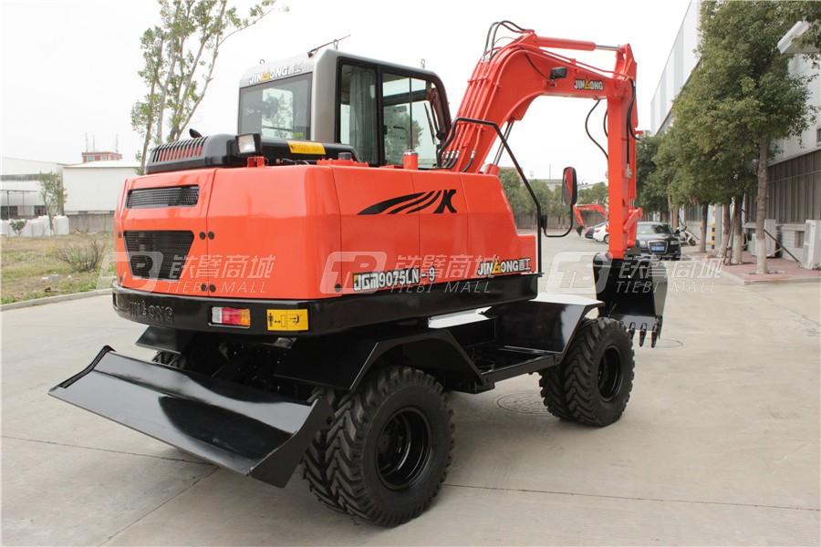 晋工JGM9075LN-9轮式挖掘机外观图6