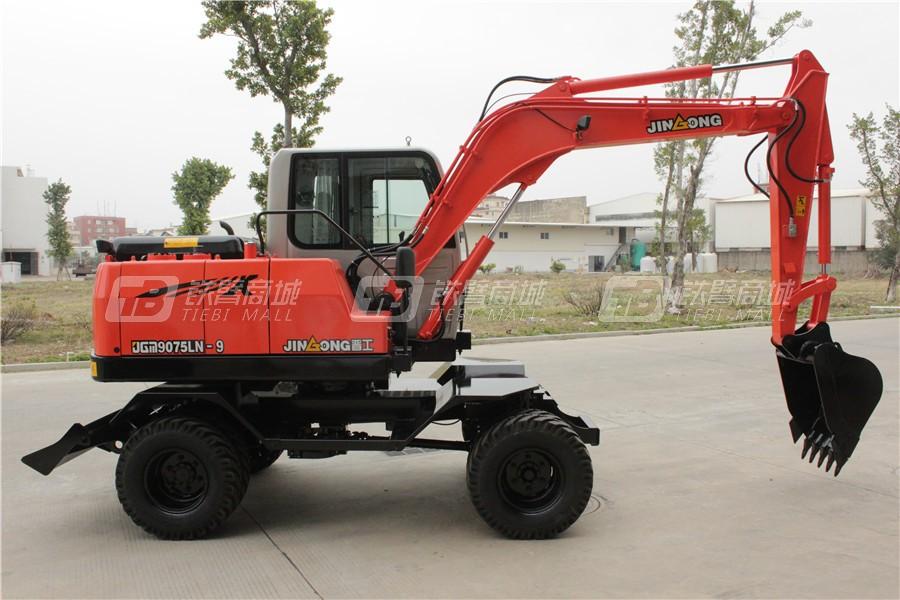 晋工JGM9075LN-9轮式挖掘机外观图7
