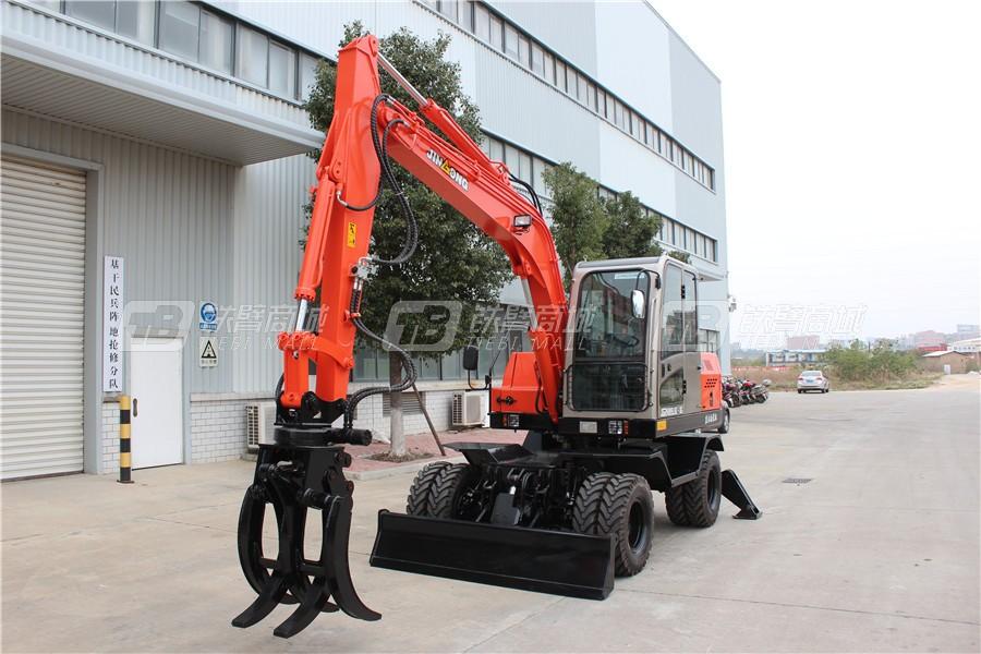 晋工JGM9085LNZ-8G轮式挖掘机外观图1