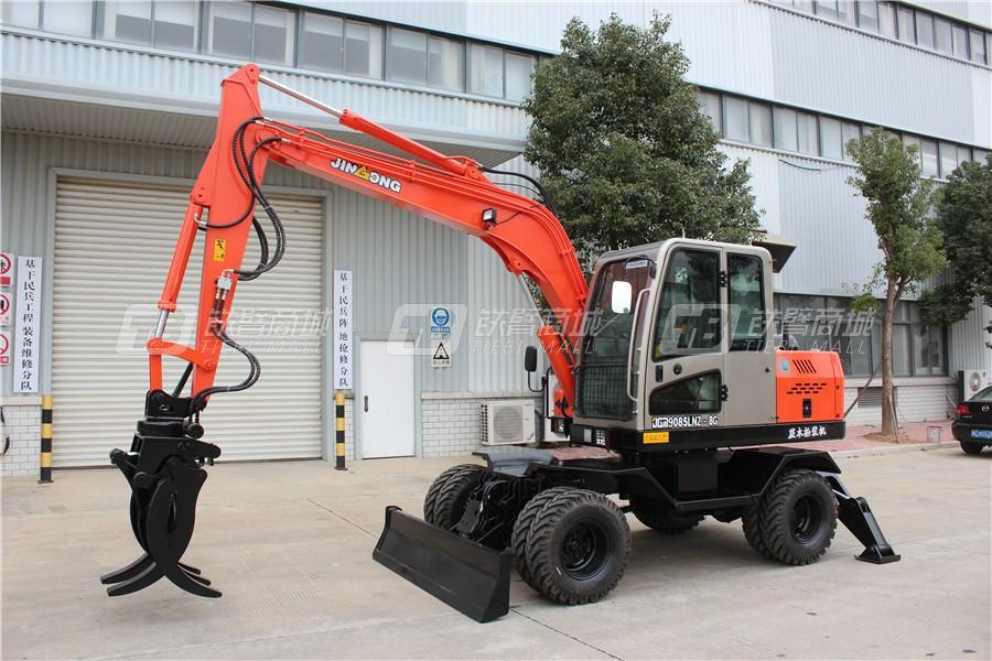 晋工JGM9085LNZ-8G轮式挖掘机外观图2