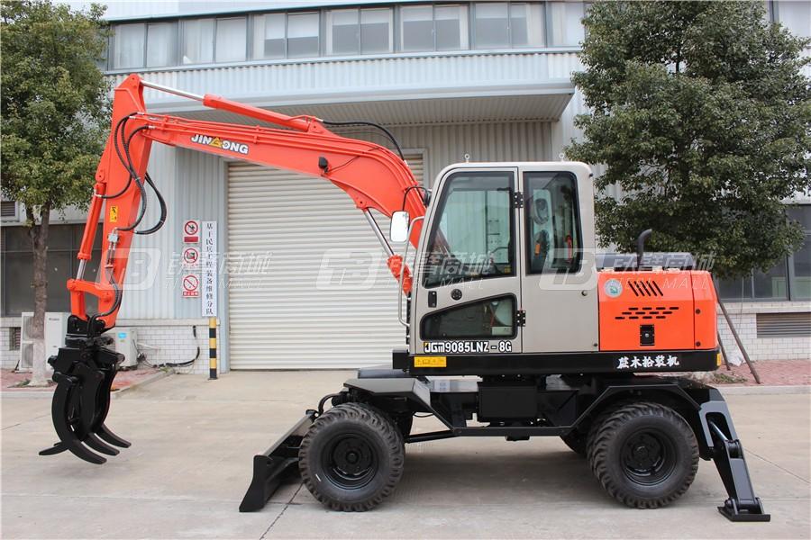 晋工JGM9085LNZ-8G轮式挖掘机外观图3