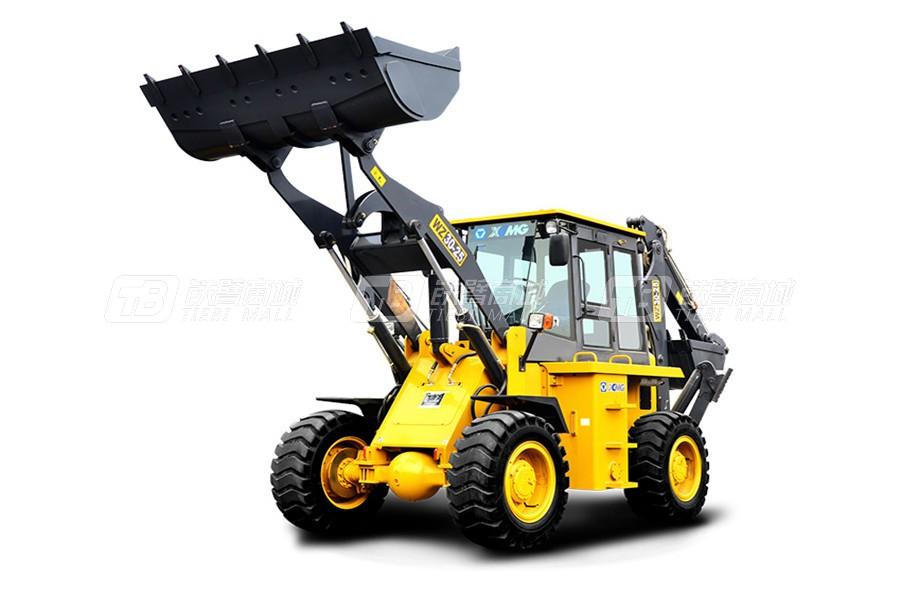 徐工WZ30-25挖掘装载机外观图1