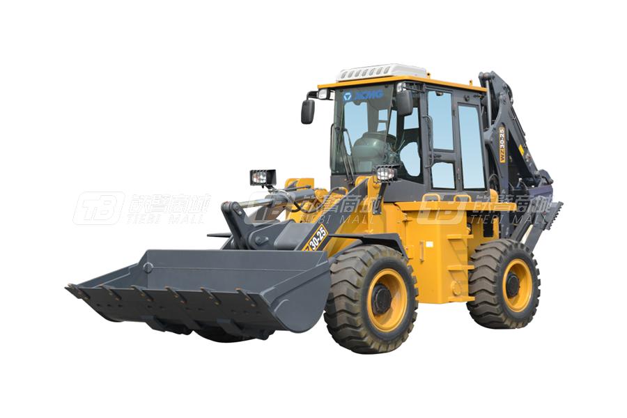 徐工WZ30-25挖掘装载机外观图6