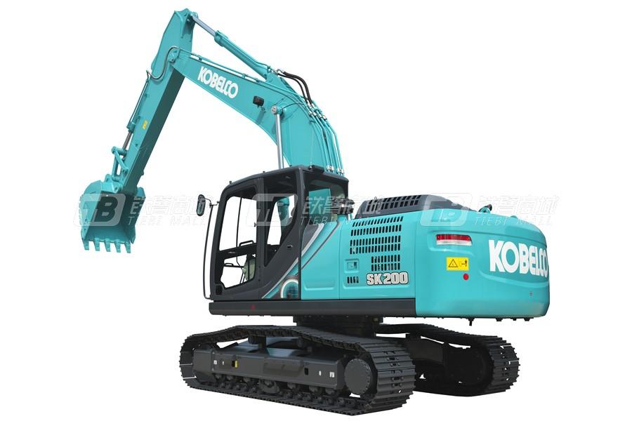 神钢SK200-10 SuperX履带挖掘机外观图3