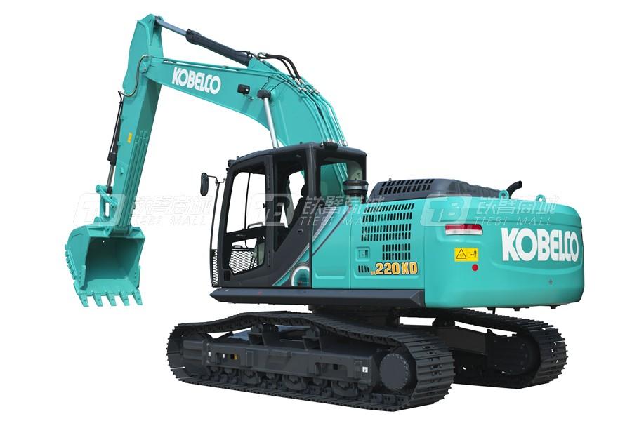 神钢SK220XD-10履带挖掘机外观图6