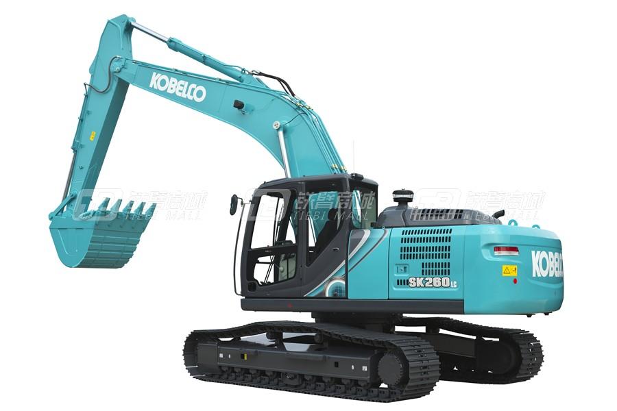神钢SK260LC-10履带挖掘机外观图4