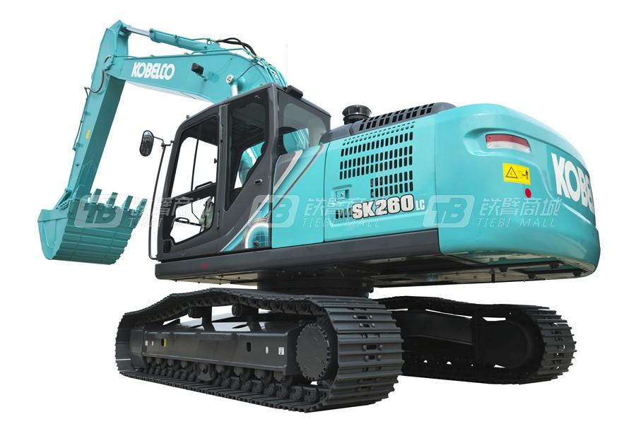 神钢SK260LC-10履带挖掘机外观图5