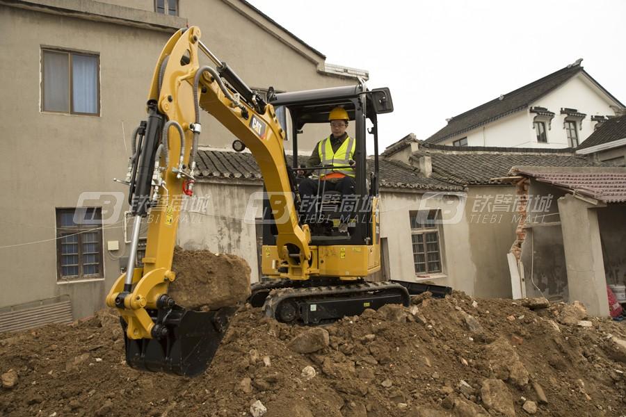 卡特彼勒新一代CAT®301.5迷你型挖掘机外观图1