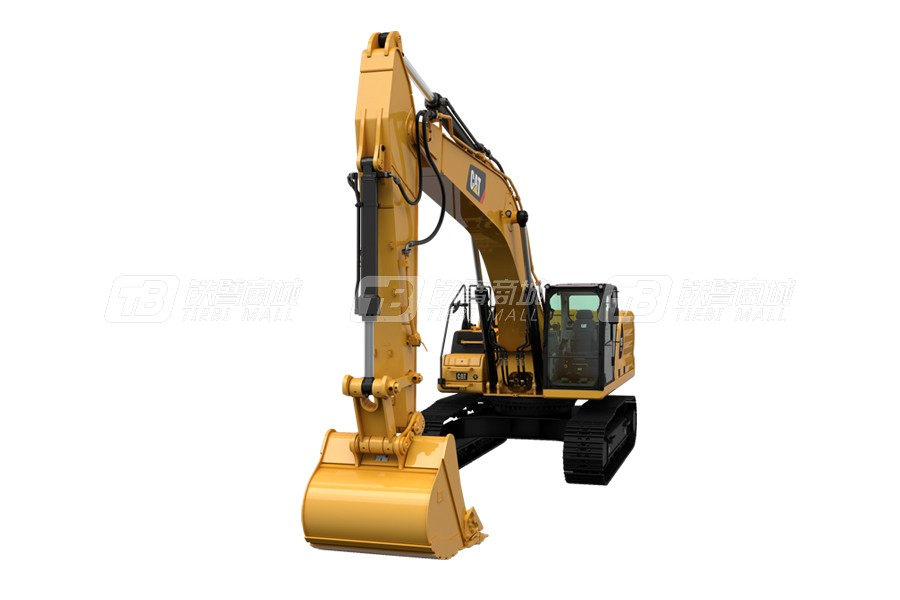 卡特彼勒新一代CAT® 336 GC液压挖掘机外观图2