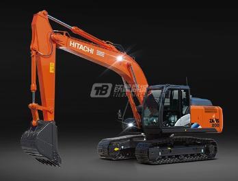 原装日立ZX200-5A履带挖掘机