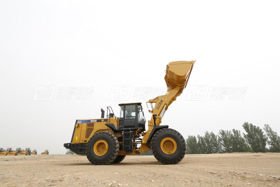 山工SEM680D轮式装载机外观图3