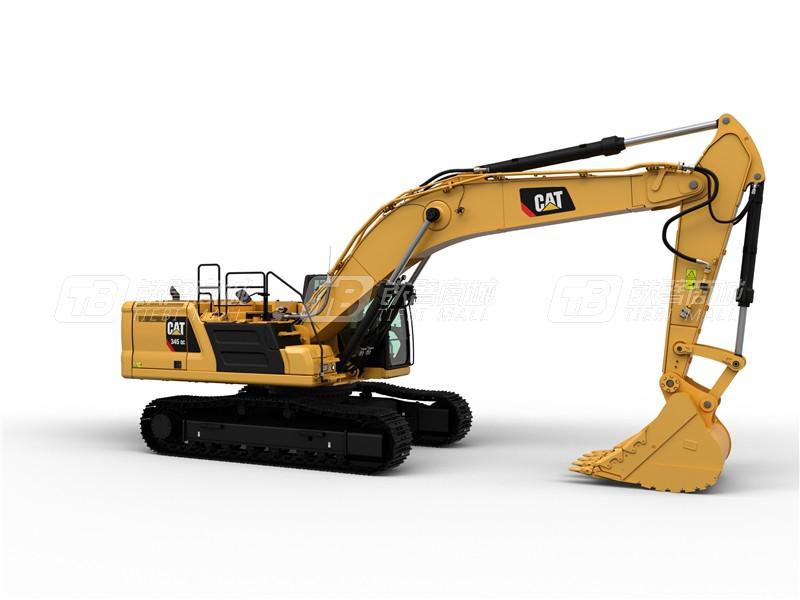 卡特彼勒新一代CAT® 345 GC液压挖掘机外观图2
