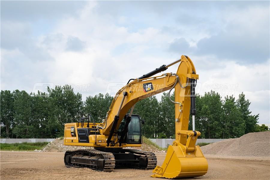 卡特彼勒新一代CAT® 345 GC液压挖掘机外观图7