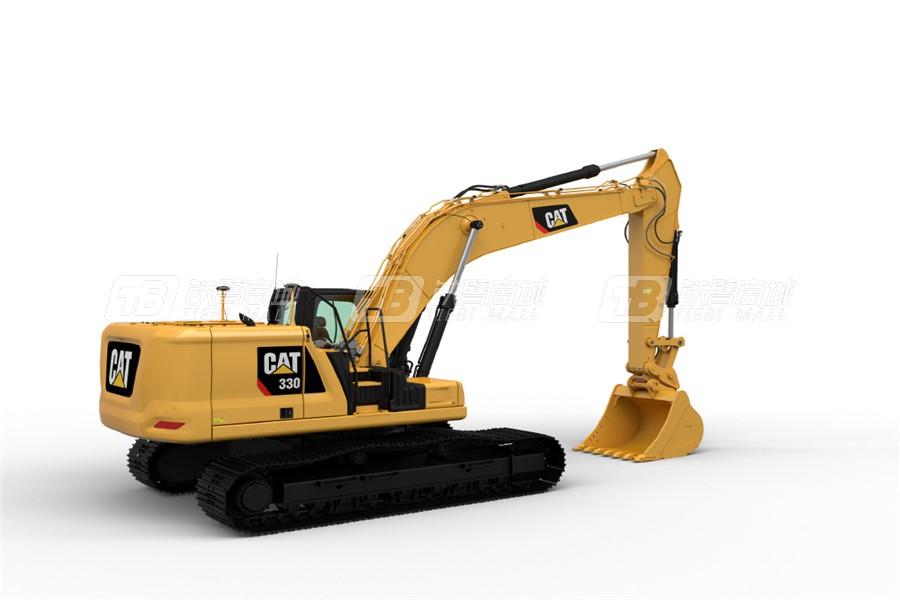 卡特彼勒新一代CAT® 330液压挖掘机外观图3