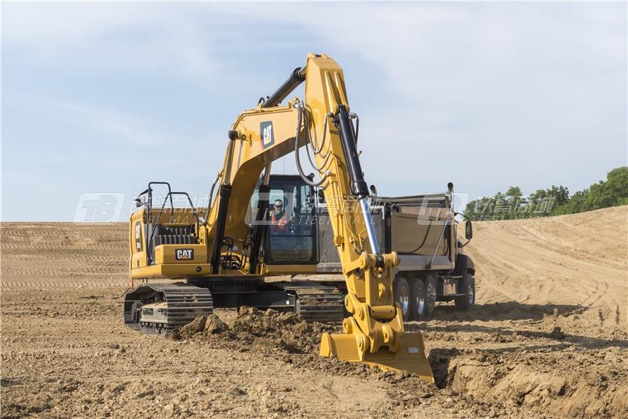 卡特彼勒新一代CAT® 330 GC液压挖掘机外观图2