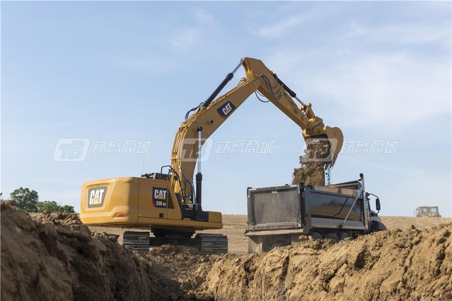 卡特彼勒新一代CAT® 330 GC液压挖掘机外观图3