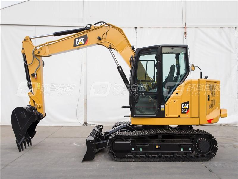 卡特彼勒新一代CAT®307.5迷你型挖掘机外观图2