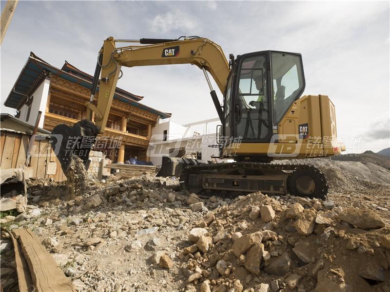 卡特彼勒新一代CAT®307.5迷你型挖掘机外观图1