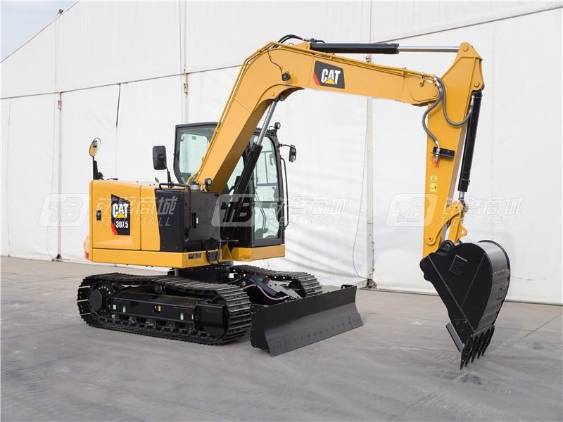 卡特彼勒新一代CAT®307.5小型液压挖掘机外观图3