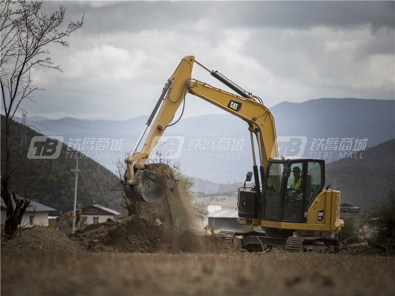 卡特彼勒新一代CAT®310迷你型挖掘机外观图1