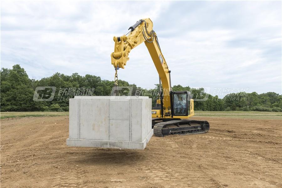 卡特彼勒新一代CAT® 330液压挖掘机外观图6