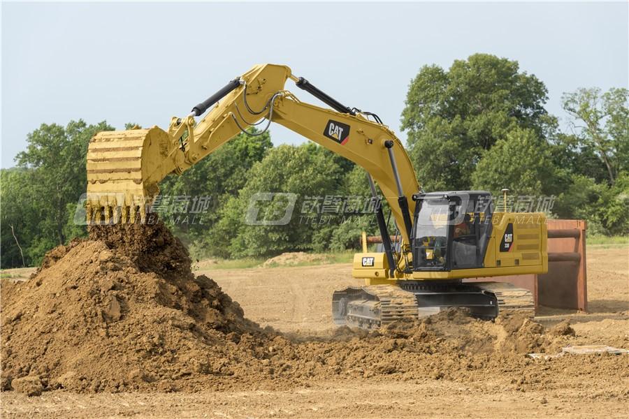 卡特彼勒新一代CAT® 330液压挖掘机外观图7
