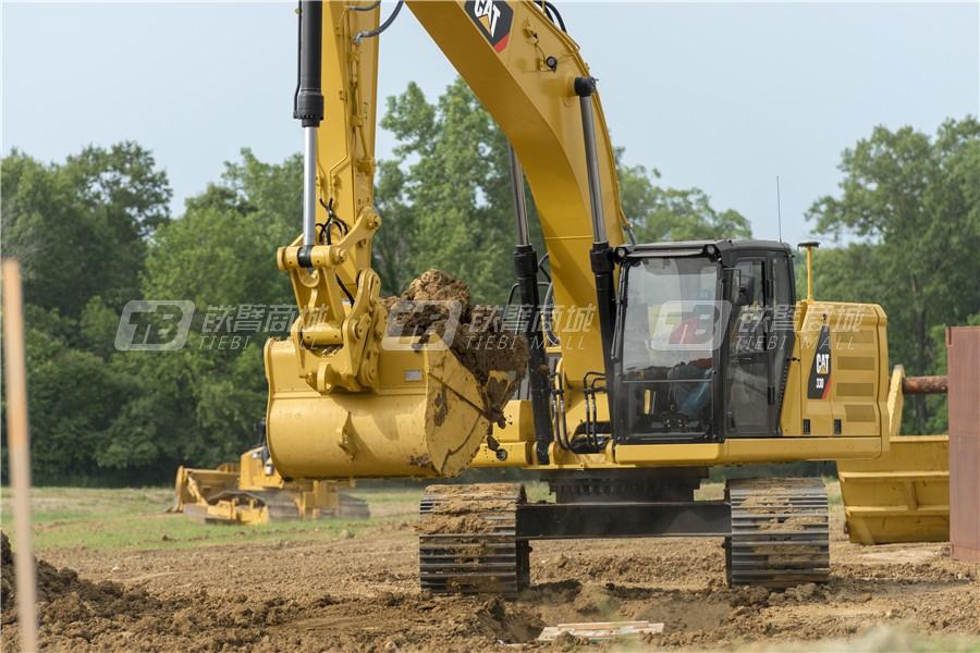 卡特彼勒新一代CAT® 330液压挖掘机外观图8