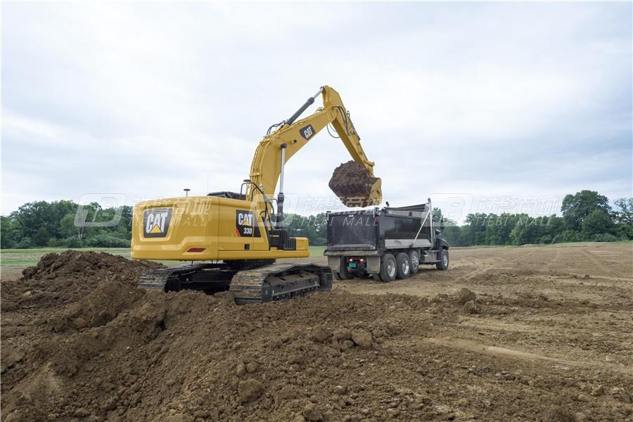 卡特彼勒新一代CAT® 330液压挖掘机外观图12