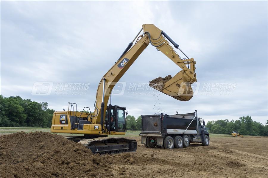 卡特彼勒新一代CAT® 330液压挖掘机外观图10