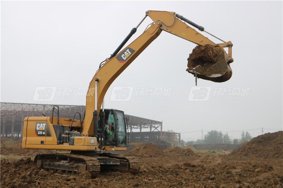 卡特彼勒新一代CAT® 320 GC液压挖掘机外观图24