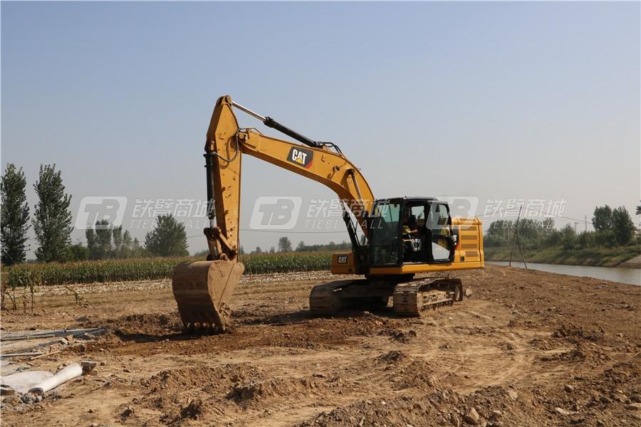 卡特彼勒新一代CAT® 320 GC液压挖掘机外观图26
