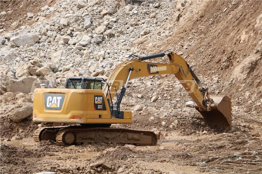 卡特彼勒新一代CAT® 323液压挖掘机外观图21