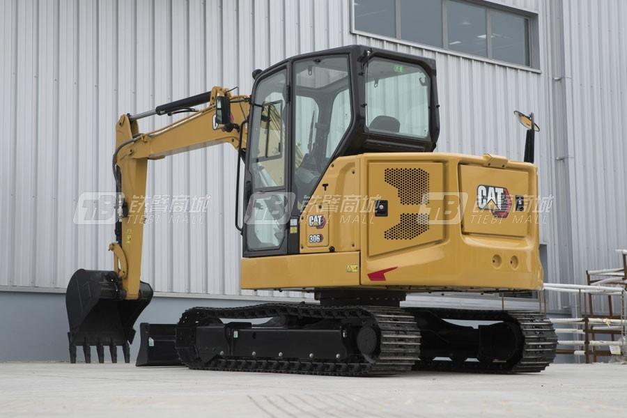 卡特彼勒新一代CAT®306小型液压挖掘机外观图2