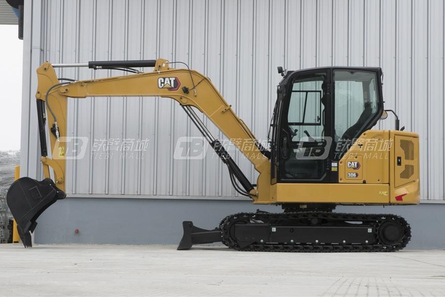 卡特彼勒新一代CAT®306小型液压挖掘机外观图6