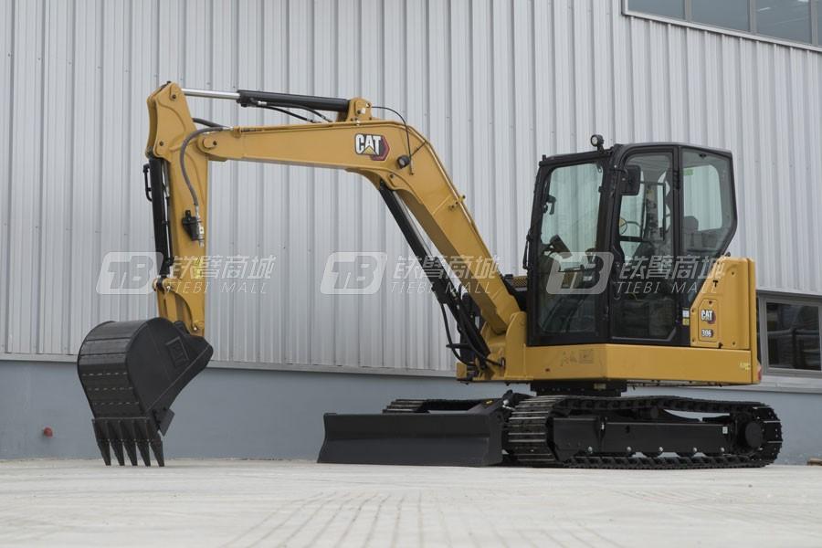 卡特彼勒新一代CAT®306小型液压挖掘机外观图7
