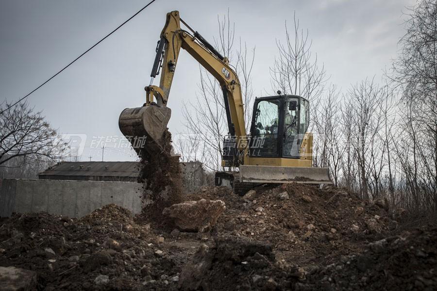 卡特彼勒新一代CAT®306.5小型液压挖掘机外观图3