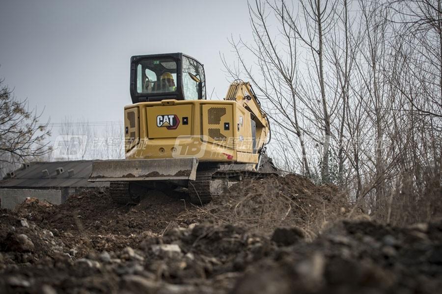 卡特彼勒新一代CAT®306.5小型液压挖掘机外观图7